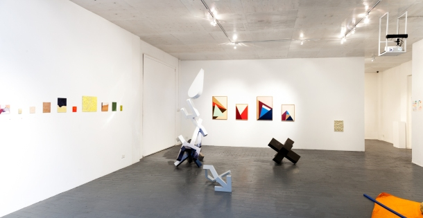 'Painting/Sculpture/Floor work/Wall work' curated by Renee Cosgrave _ image by Christo Crocker