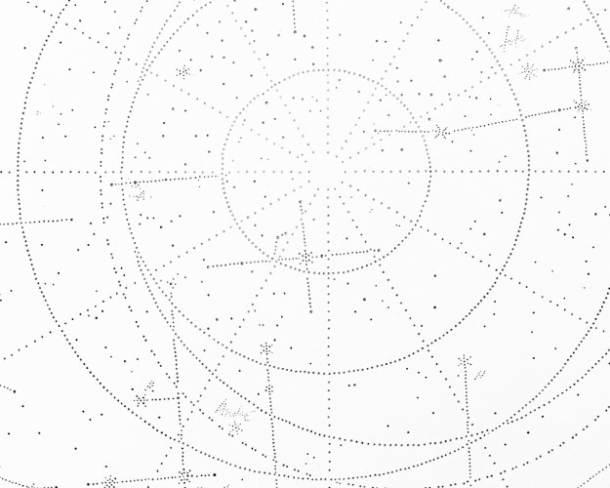 Stanislava Pinchuk, Detail from Constellation Map (Walking through Melbourne), (2013)
