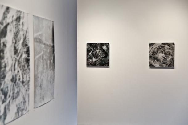 Jon Butt, 'Field', install shot courtesy of gallery website