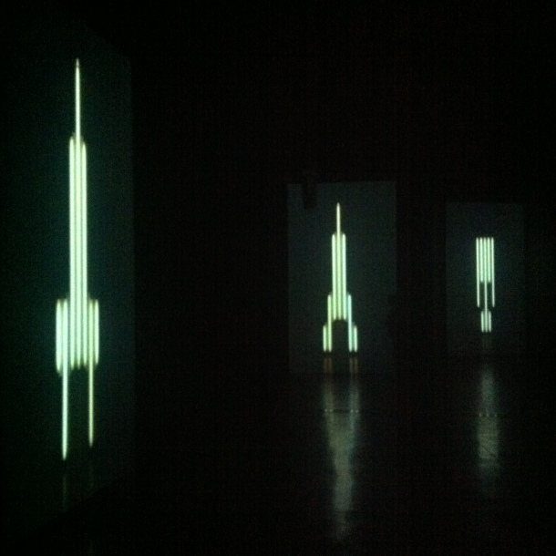 Christian Capurro, 'Slave' (2014) at ACCA _ [photo by author]